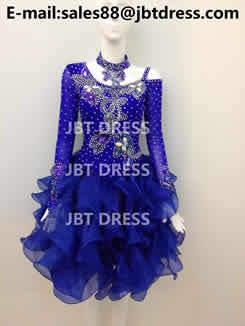 Latin Dance Costume Jl1618