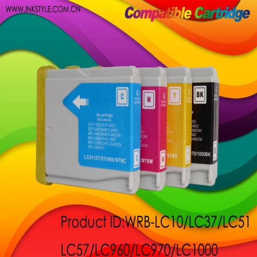 Lc10 Lc37 Lc51 Lc57 Lc960 Lc970 Lc1000 Compatible Cartridge For Brother