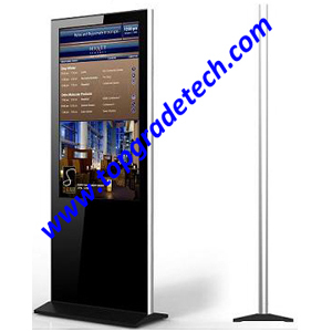 Lcd Digital Signage Stylish Slim All In One Network