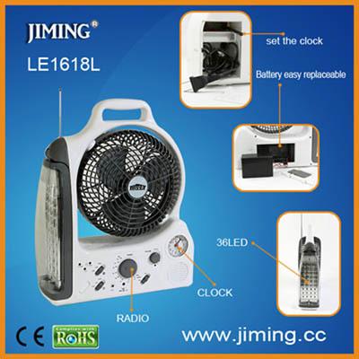Le1618l Rechargeable Led Emergency Light Fan Lantern