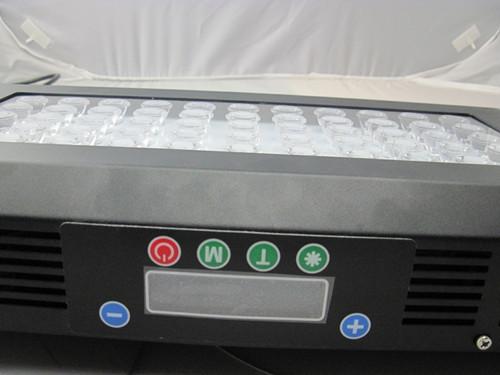 Led Aquarium Lights 120w Dimmable Light Lens Coral Reef Lcd Timer 3 Watt Le