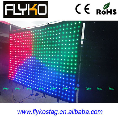 Led Background Video Wall Curtain Boards