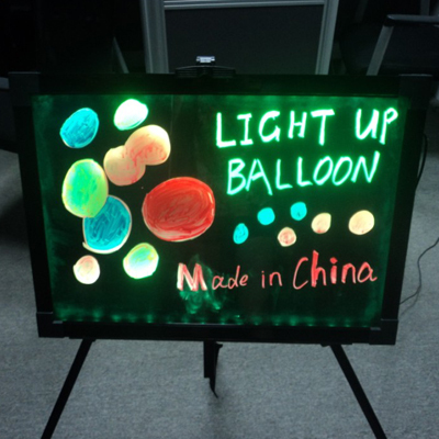 Led Board For Cafe And Bar Menu Display Attaching Eyes