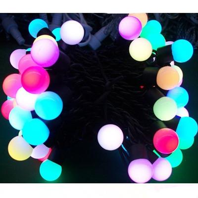 Led Bulb String Light Christmas Decorative