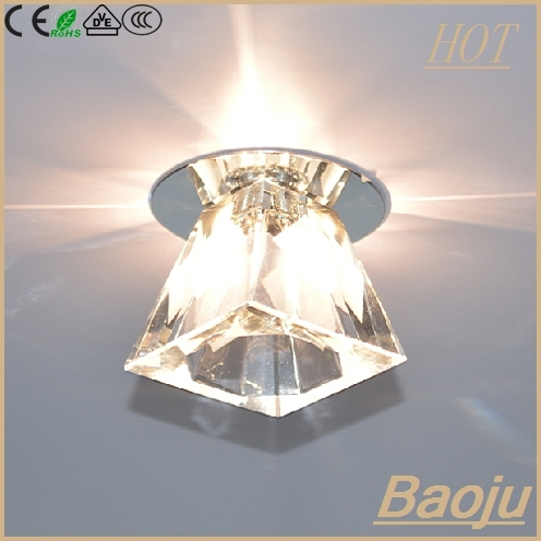 Led Cob Downlight Square Crystal 5w