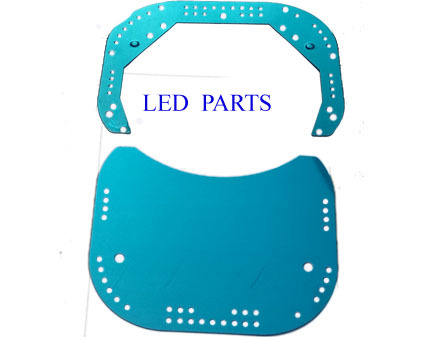 Led Cover Parts And Related