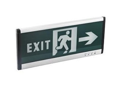 Led Exit Instructions Light 1w