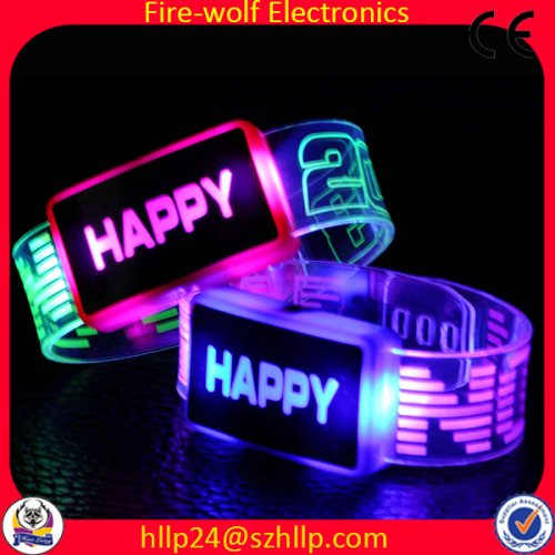 Led Flashing Braceletled Bracelet Glow
