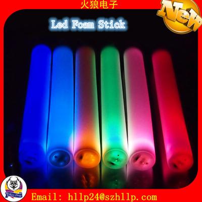 Led Foam Stick Glow Flashing China Manufacture