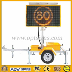 Led Full Matrix Portable Variable Message Signs B Size