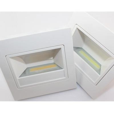 Led Inwall Light White Color Shape