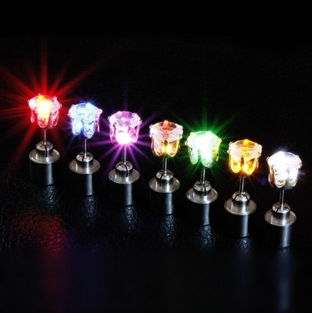 Led Light Novelty Earrings For Party And Different Holidays
