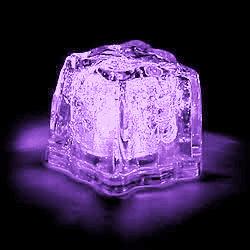 Led Liquid Activated Flashing Ice Cube