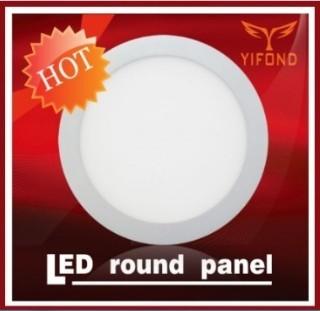 Led Round Panel Light Flat Ceiling