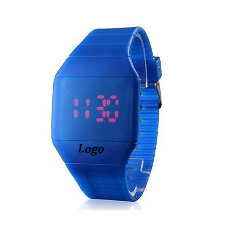 Led Rubber Wrist Watch