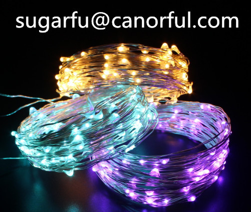 Led String Lights To Decorate Holidays