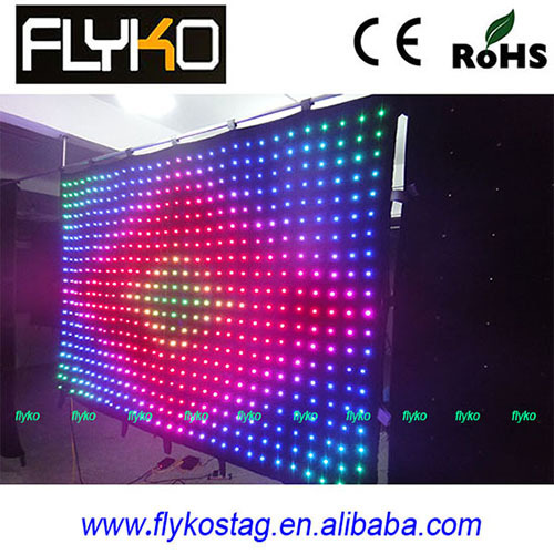Led Video Curtain Backdrop