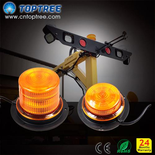 Led Warning Strobe Lights Rotating Beacon Light 12v