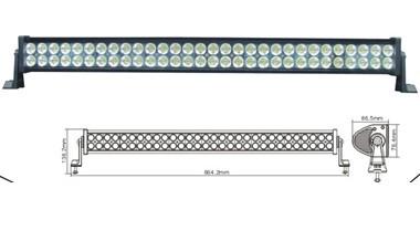 Led Worklight 180w 10 30v Dc Aluminium 60pcs 3w Light Bar For Jeep Ch 008d