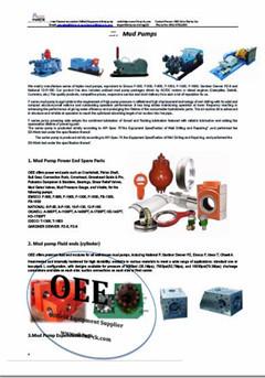 Lewco W1100 W1612 W446 Mud Pump