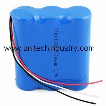 Li Ion Battery Pack 18650 3 7v 7500mah