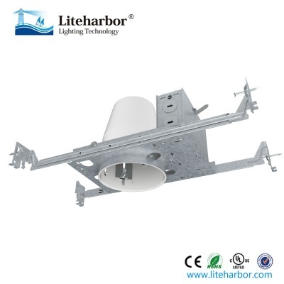 Line Voltage 4 Inch New Construction Non Ic Recessed Housing
