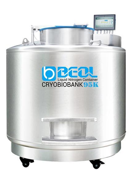 Liquid Nitrogen Tank Cryobiobank Series 95k