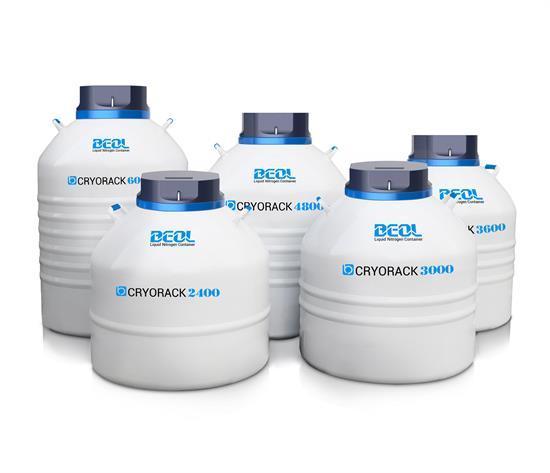 Liquid Nitrogen Tank Cryorack Series 600 6000