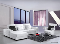 Living Room French Fabric Furniture Classical European Sofas