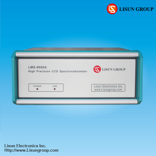 Lms 9000a High Precision Ccd Spectroradiometer For Led Luminaires Testing W