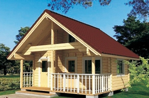 Log Cabin And Garden Shed Wooden House Dy D 041