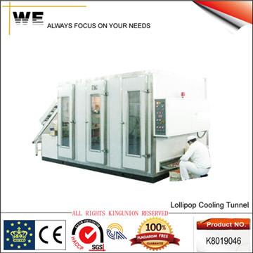 Lollipop Cooling Tunnel