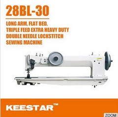 Long Arm Double Needle Sewing Machine 28bl30