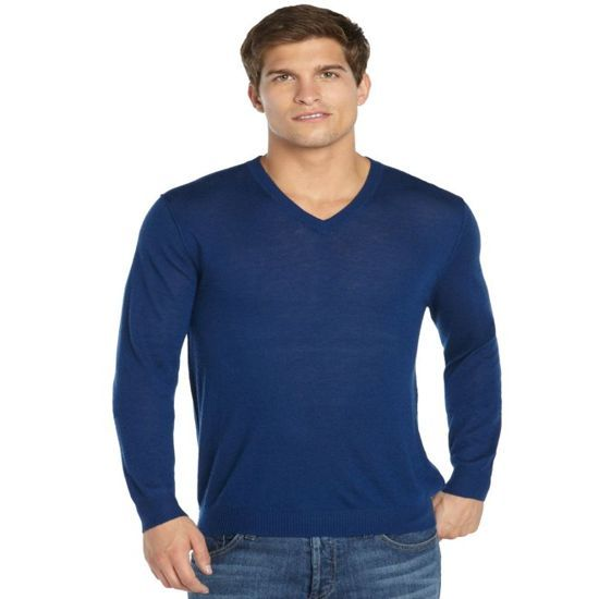 Long Sleeve Men Pure Cashmere Sweaters