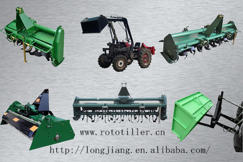 Longjiang Hot Sale Ce Approved Chain Gear Drive Rotary Tiller