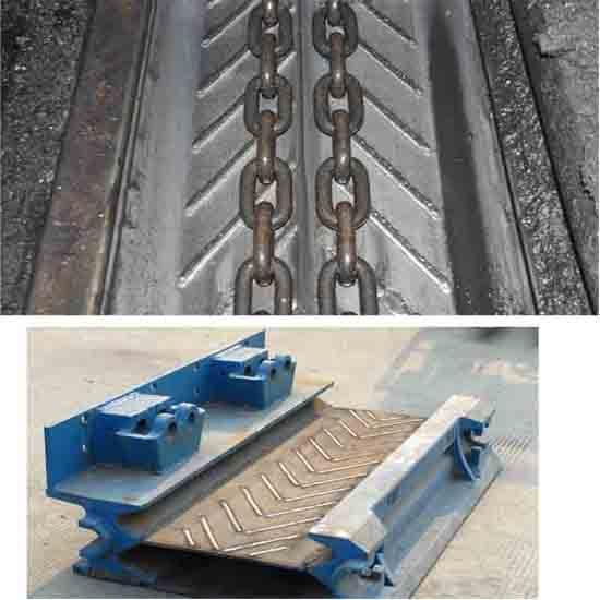 Longwall Face Conveyor Line Pan Cladding Machine
