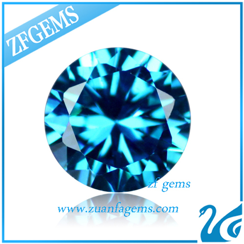 Loose 1 6 Mm Machine Cut Cubic Zircon Diamond