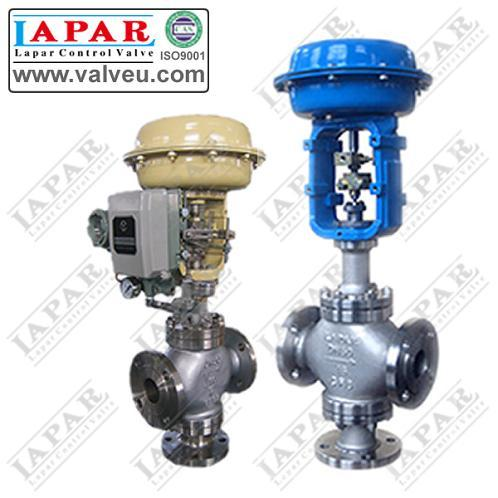 Lph14 Pneumatic Diaphragm 3 Way Control Valve