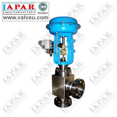 Lph15 Diaphragm High Pressure Cage Angle Type Control Valve