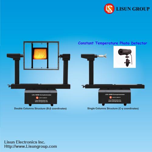 Lsg 1800b High Precision Rotation Luminaire Goniophotomer System For Measur