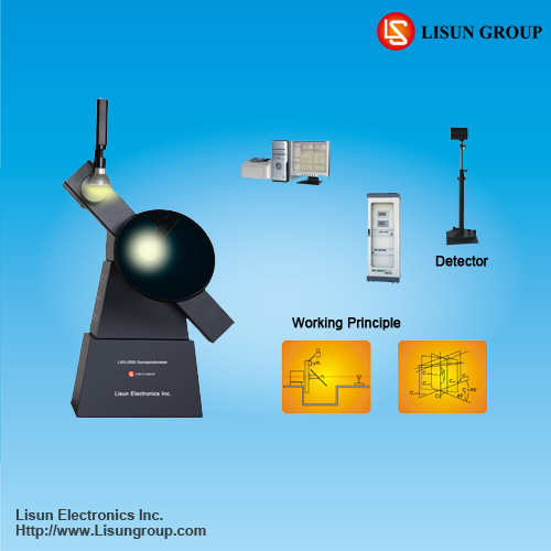Lsg 2000 Lm 79 Automatic Goniophotometer Lamp Test Systems With Moving Mirr