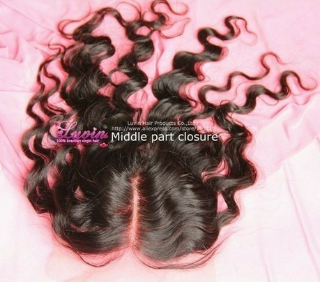 Luvin Hair Lace Top Closure With Loose Wave Swiss Brazilian Virgin