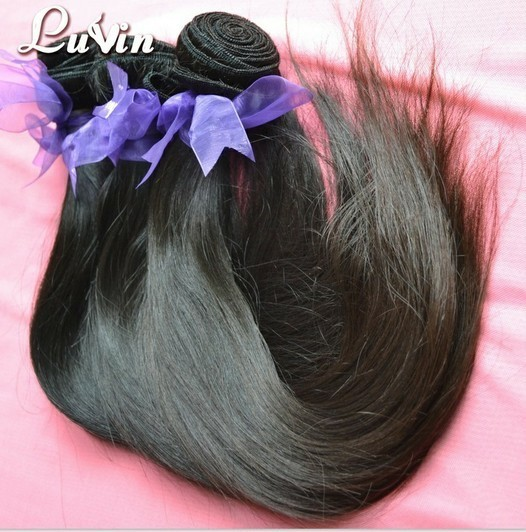 Luvin Hair Malaysian Virgin Human 5a Top Quality Straight