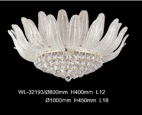 Luxury All Crystal Ceiling Lamp