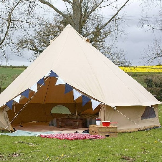 Luxury Camping Canvas Bell Tent