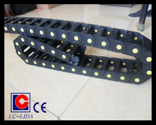Lx45 Bridge Type Plastic Cable Drag Chain With Ce Certification