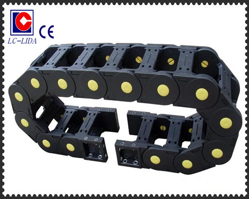 Lx62 Bridge Type Plastic Cable Carrier Chain With Ce Certification