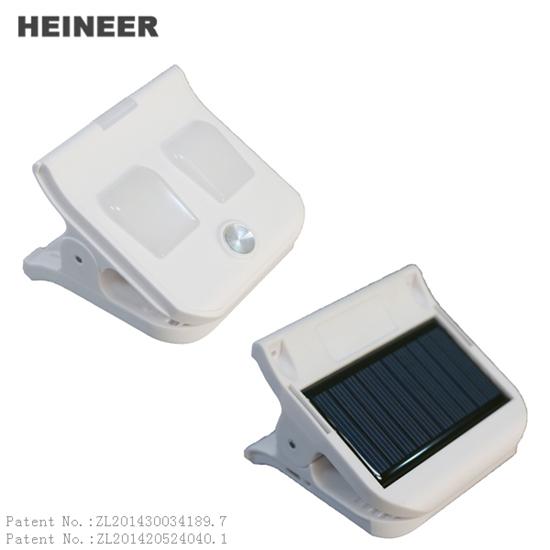 M1 Portable Clip Led Light With Solar Power