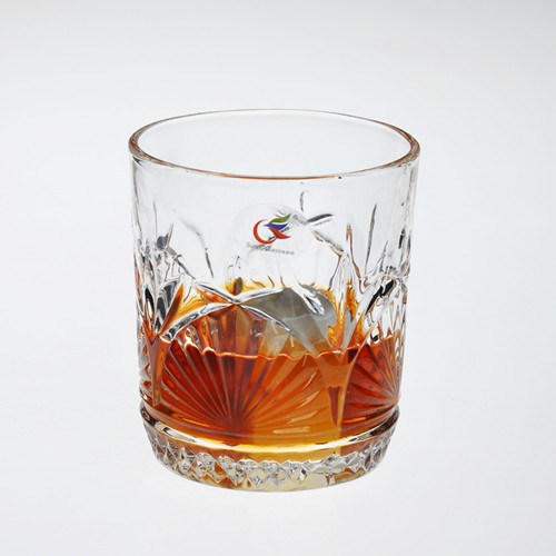 Machine Pressed Whiskey Glass