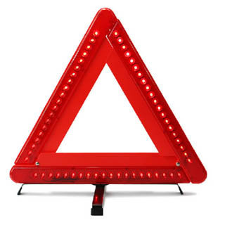 Magnetic Led Triangles Warning Light
